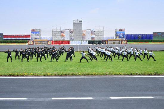 السيسى يشهد حفل تخريج دفعة جديدة من أكاديمية الشرطة (11)