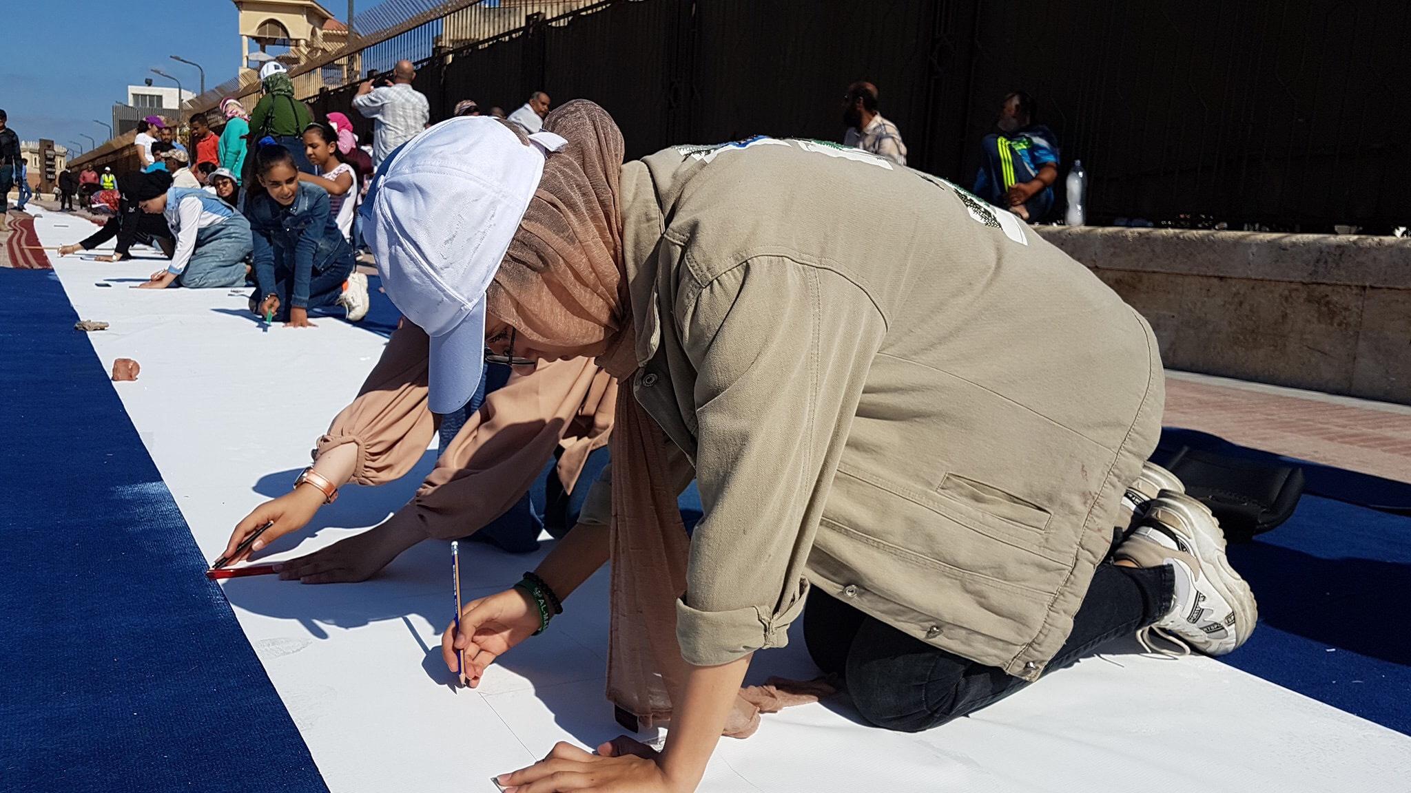 طلاب بورسعيد يرسمون معالمها (22)