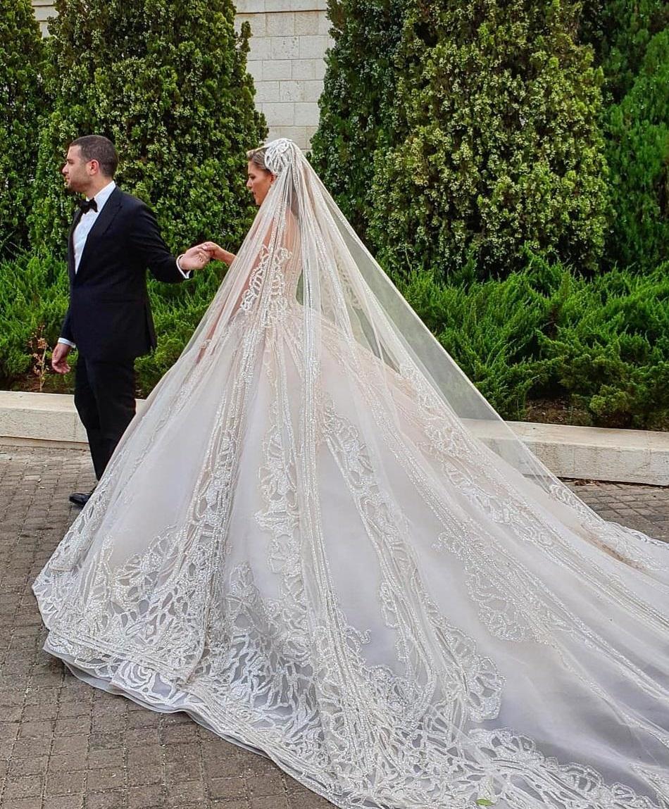 حفل زفاف نجل إيلى صعب (12)