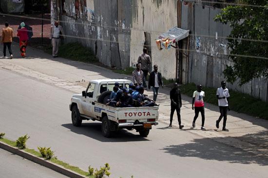 انتشار قوات الأمن الاثيوبية