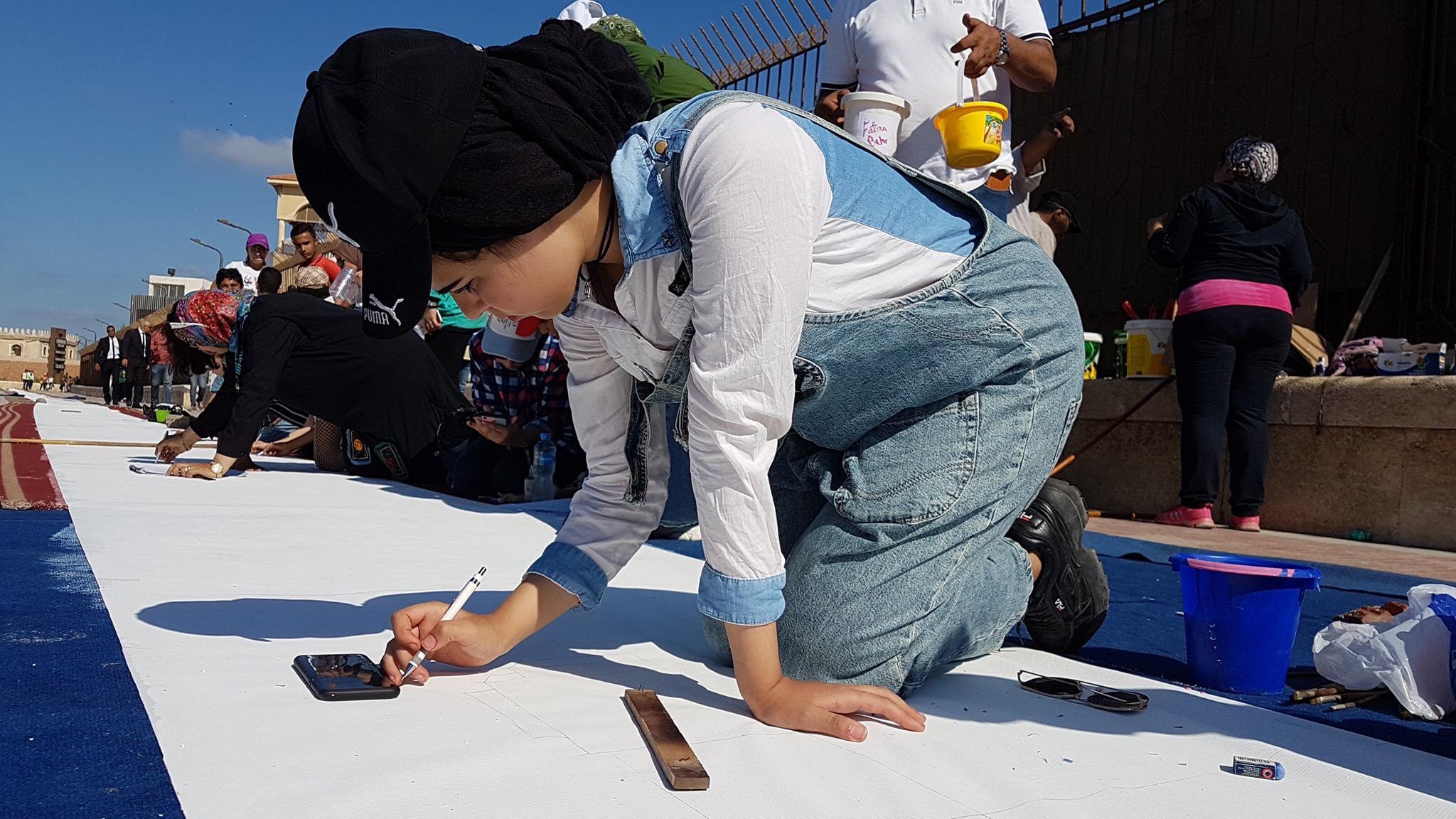 طلاب بورسعيد يرسمون معالمها (21)