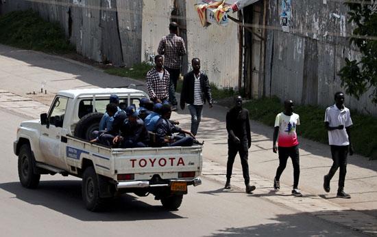 قوات الأمن فى إثيوبيا