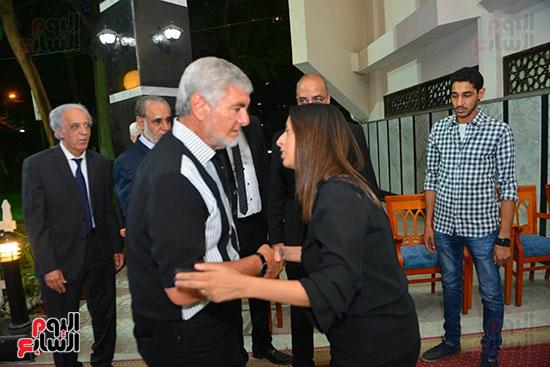 عزاء شقيقة سمير عدلي (14)