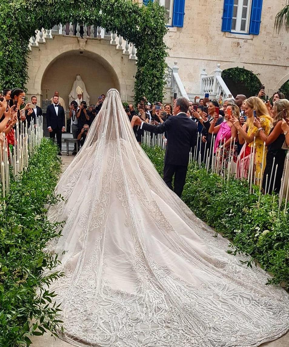 حفل زفاف نجل إيلى صعب (9)