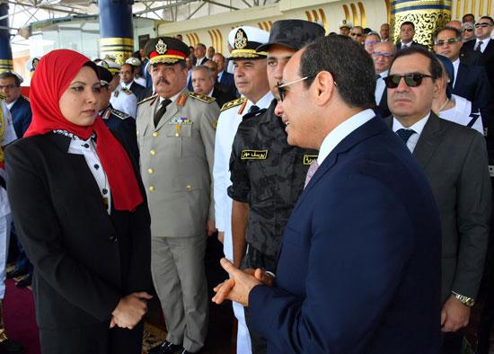 السيسى يشهد حفل تخريج دفعة جديدة من أكاديمية الشرطة (6)