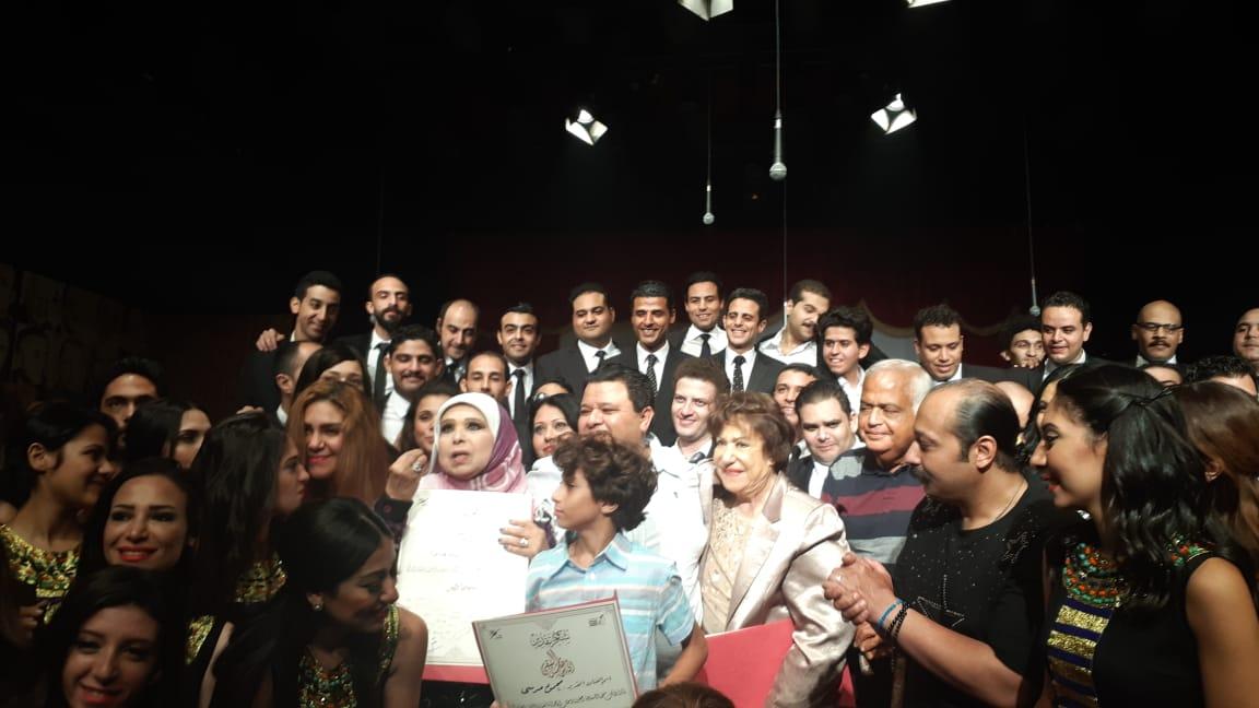 مسرحية سينما مصر بحضور سميحة ايوب ومديحة حمدي