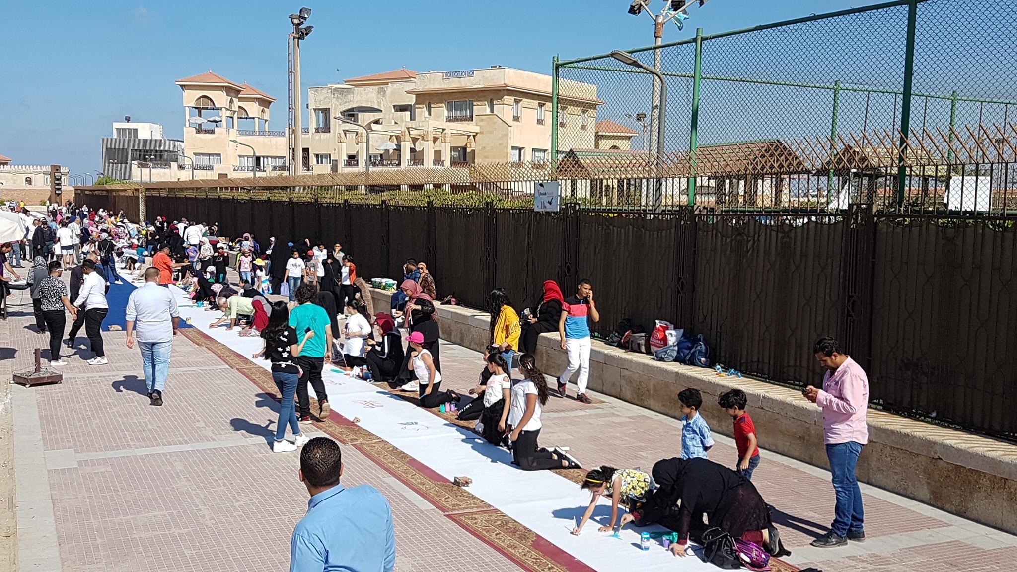 طلاب بورسعيد يرسمون معالمها (18)
