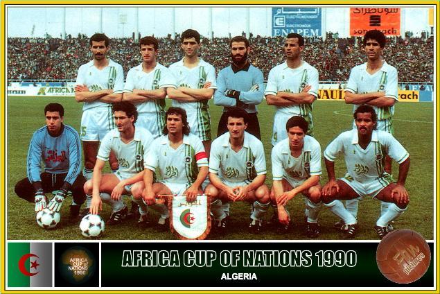 منتخب الجزائر المتوج بلقب 1990