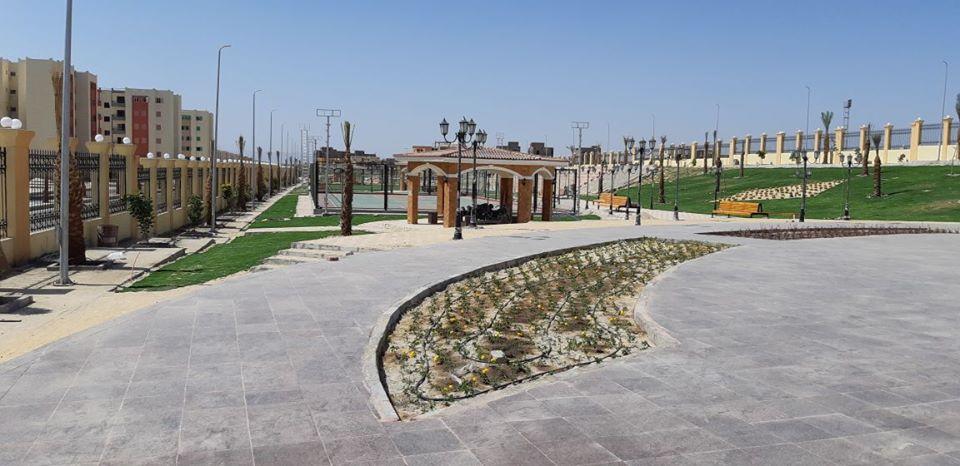 طفرة معمارية وتركيبة فنية ساحرة ترسم مدينة طيبة الجديدة أول مدينة بطراز عالمي (10)