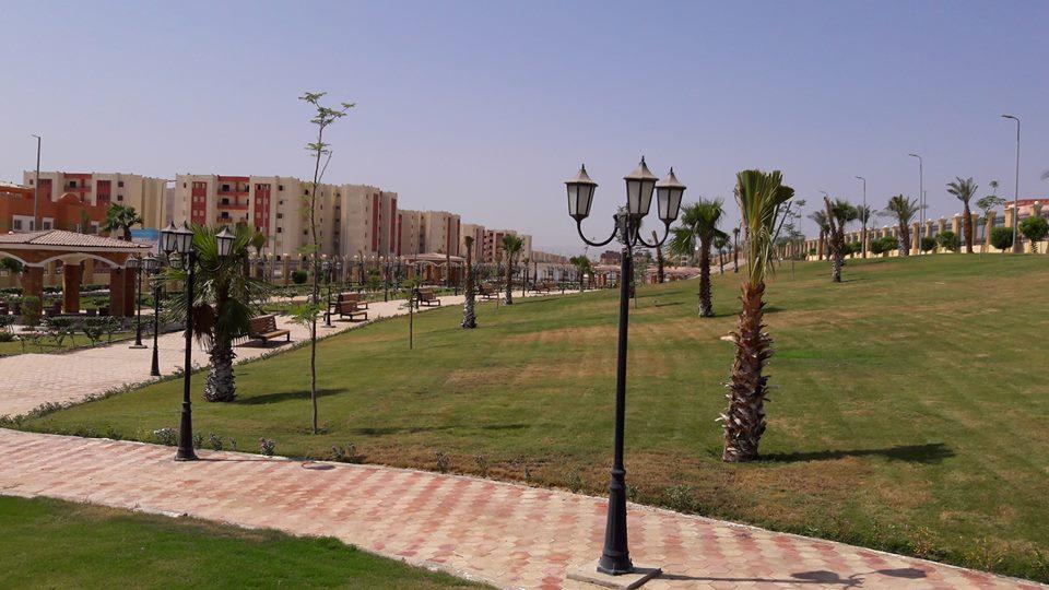 طفرة معمارية وتركيبة فنية ساحرة ترسم مدينة طيبة الجديدة أول مدينة بطراز عالمي (14)