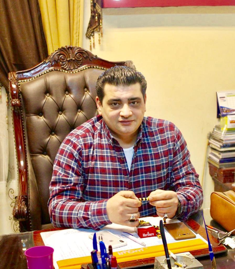 المقدم محمد الأرضي رئيس مباحث مركز شربين