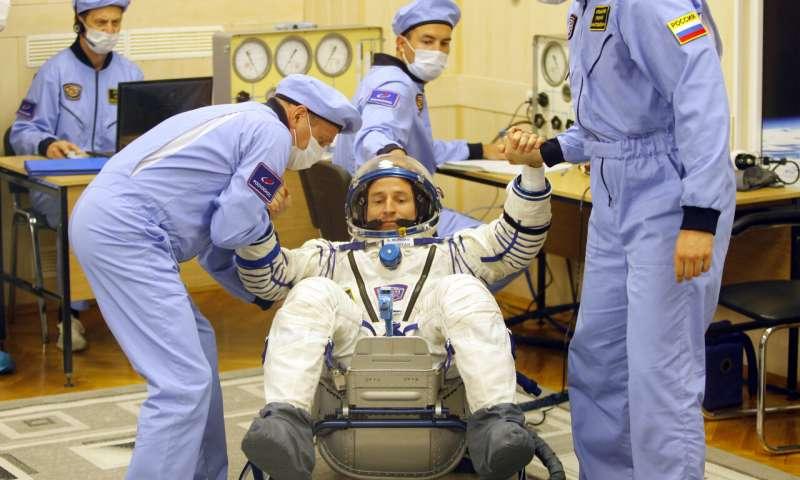 رائد الفضاء الروسى