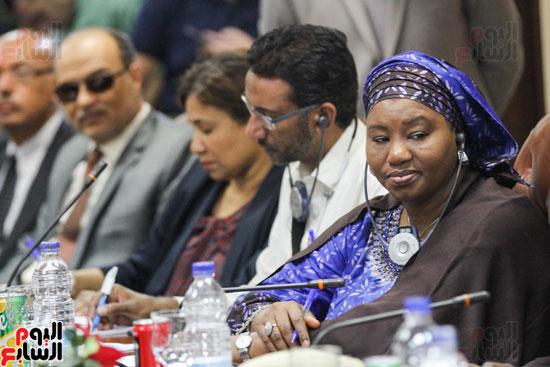 إجتماع رؤساء الصحف الأفارقة (8)