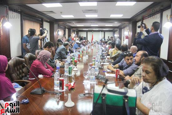 إجتماع رؤساء الصحف الأفارقة (16)