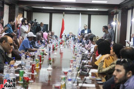 إجتماع رؤساء الصحف الأفارقة (11)