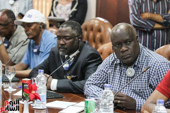 إجتماع رؤساء الصحف الأفارقة (13)