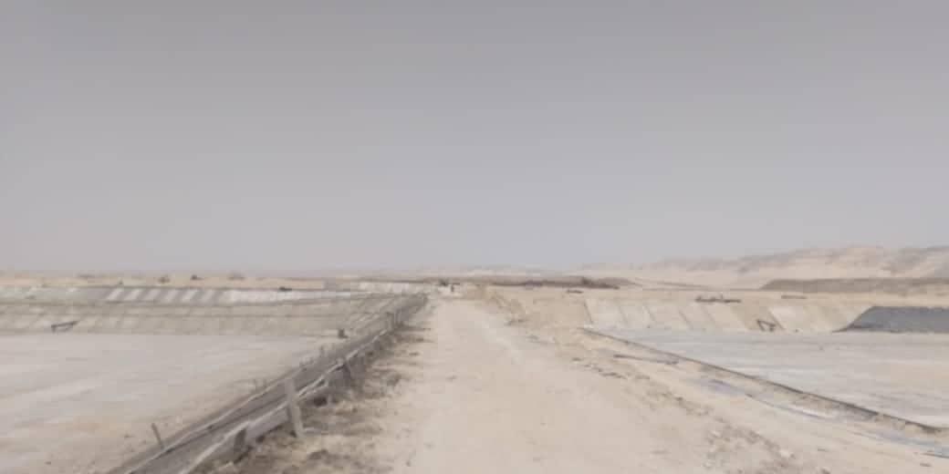 محطة معالجة الصرف بالبداري (2)