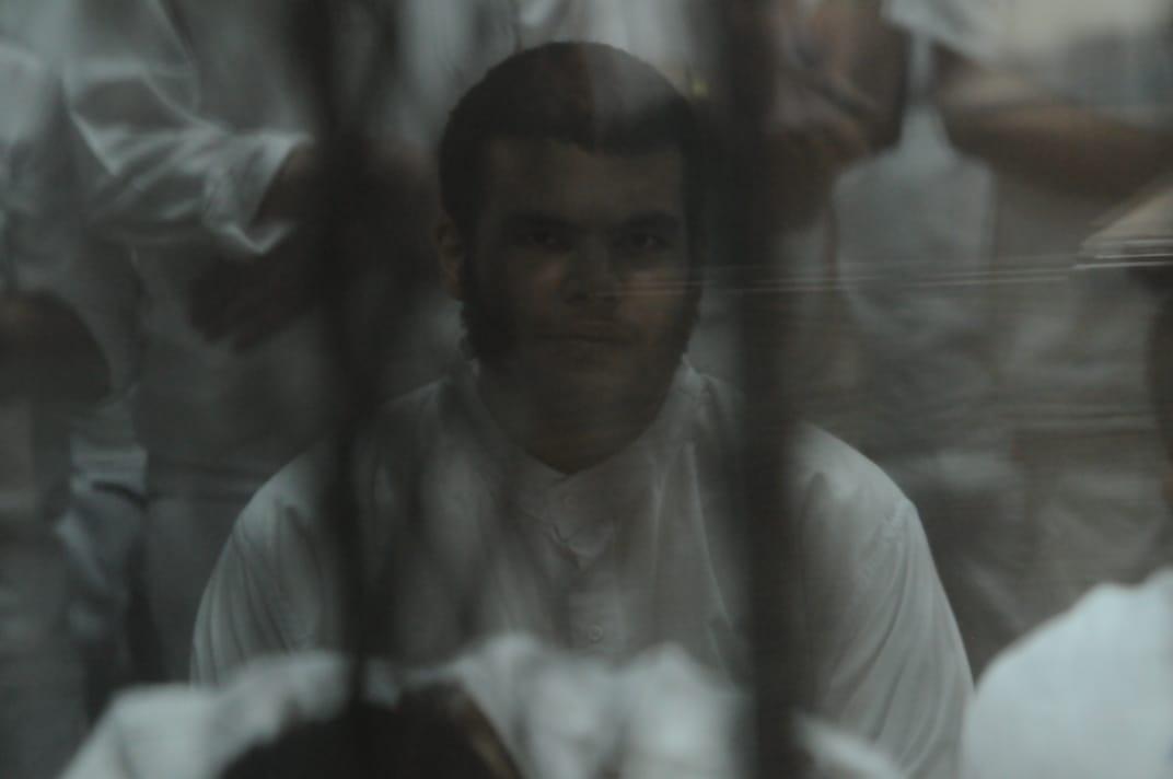 محاكمة اللمتهمين فى قضية طلاب داعش (1)