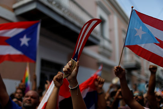 مظاهرات بورتوريكو