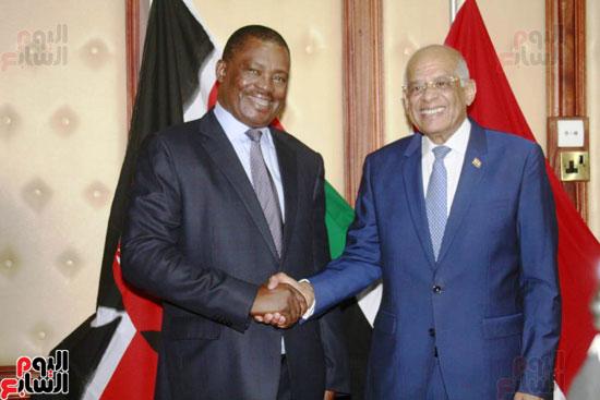 الزيارة الرسمية التى يقوم بها الدكتور على عبد العال رئيس مجلس النواب إلى كينيا (4)