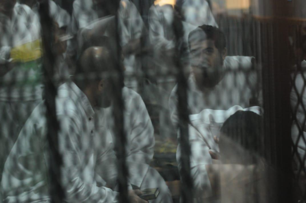 محاكمة اللمتهمين فى قضية طلاب داعش (5)