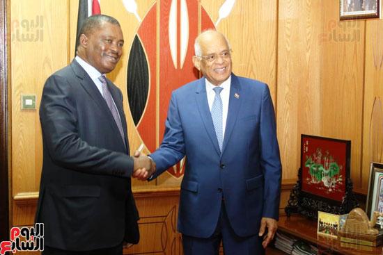 الزيارة الرسمية التى يقوم بها الدكتور على عبد العال رئيس مجلس النواب إلى كينيا (2)