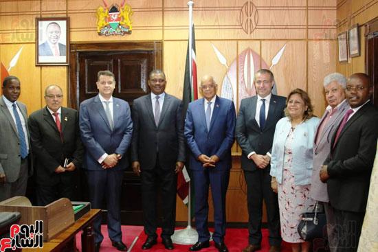 الزيارة الرسمية التى يقوم بها الدكتور على عبد العال رئيس مجلس النواب إلى كينيا (1)