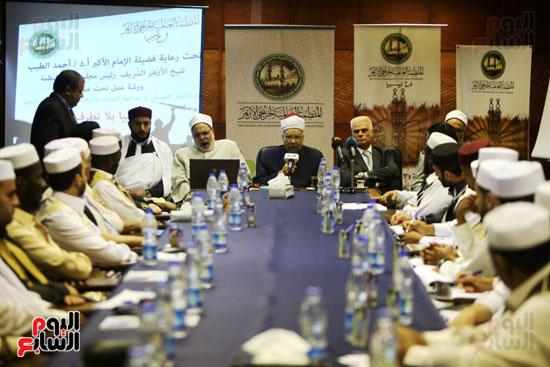 تخريج دفعة ائئمة  لانجلترا وليبيا (7)