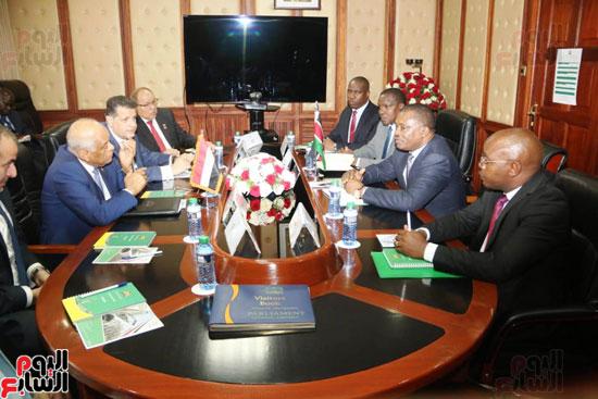 الزيارة الرسمية التى يقوم بها الدكتور على عبد العال رئيس مجلس النواب إلى كينيا (3)