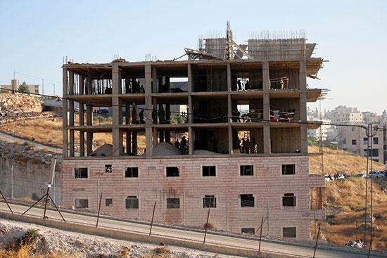 منازل الفلسطينيين