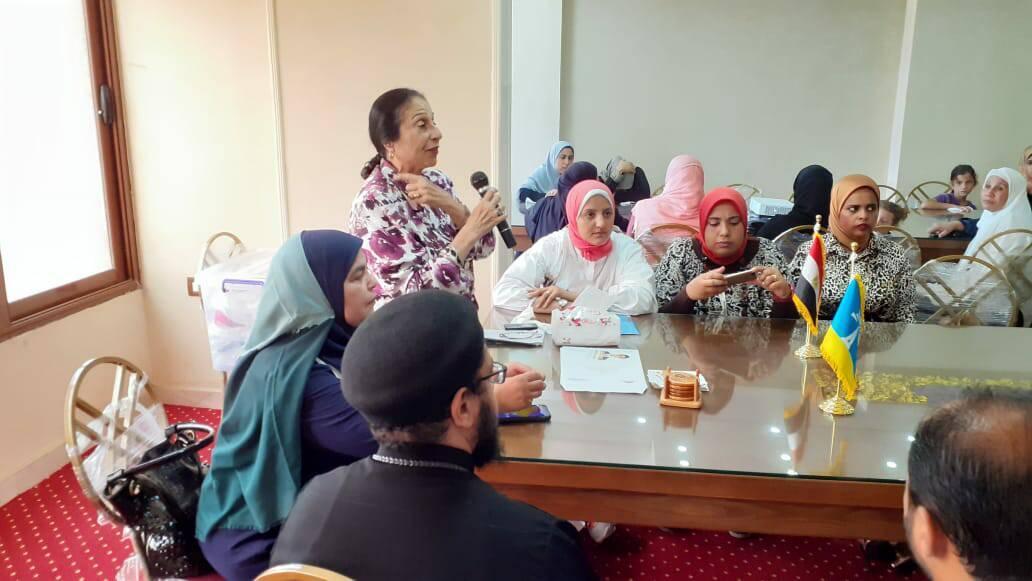 القومى للمرأة ينظم ندوة توعية للقضاء على ختان الإناث بالإسكندرية (2)