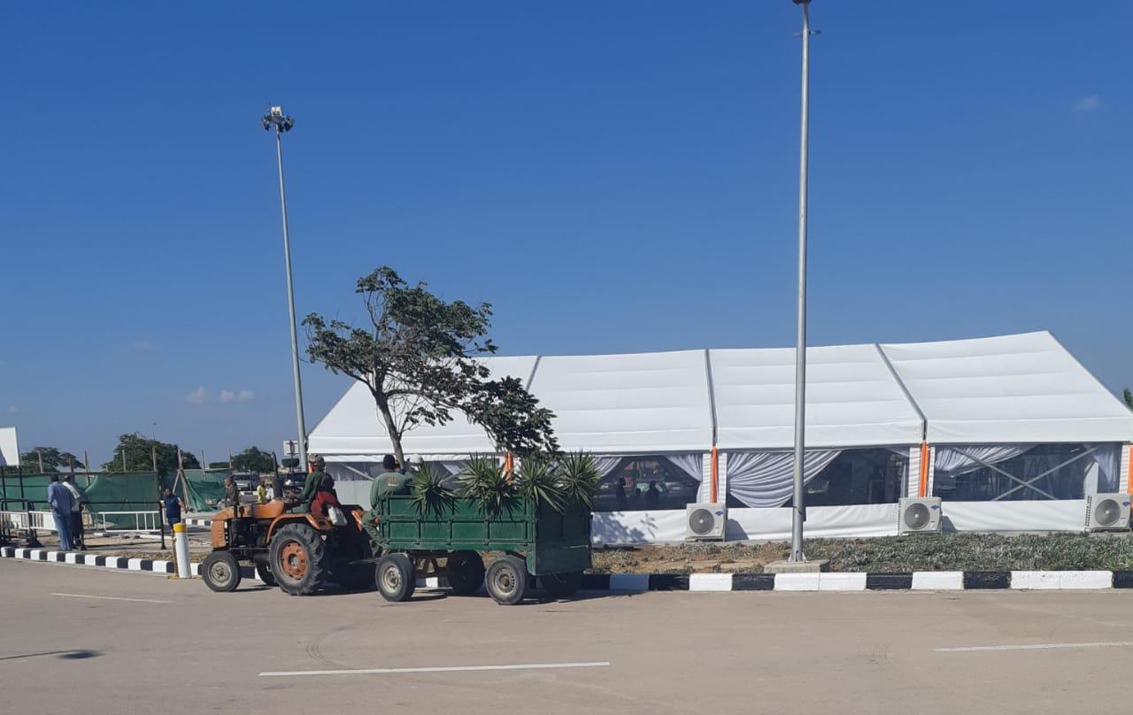مطار برج العرب (3)