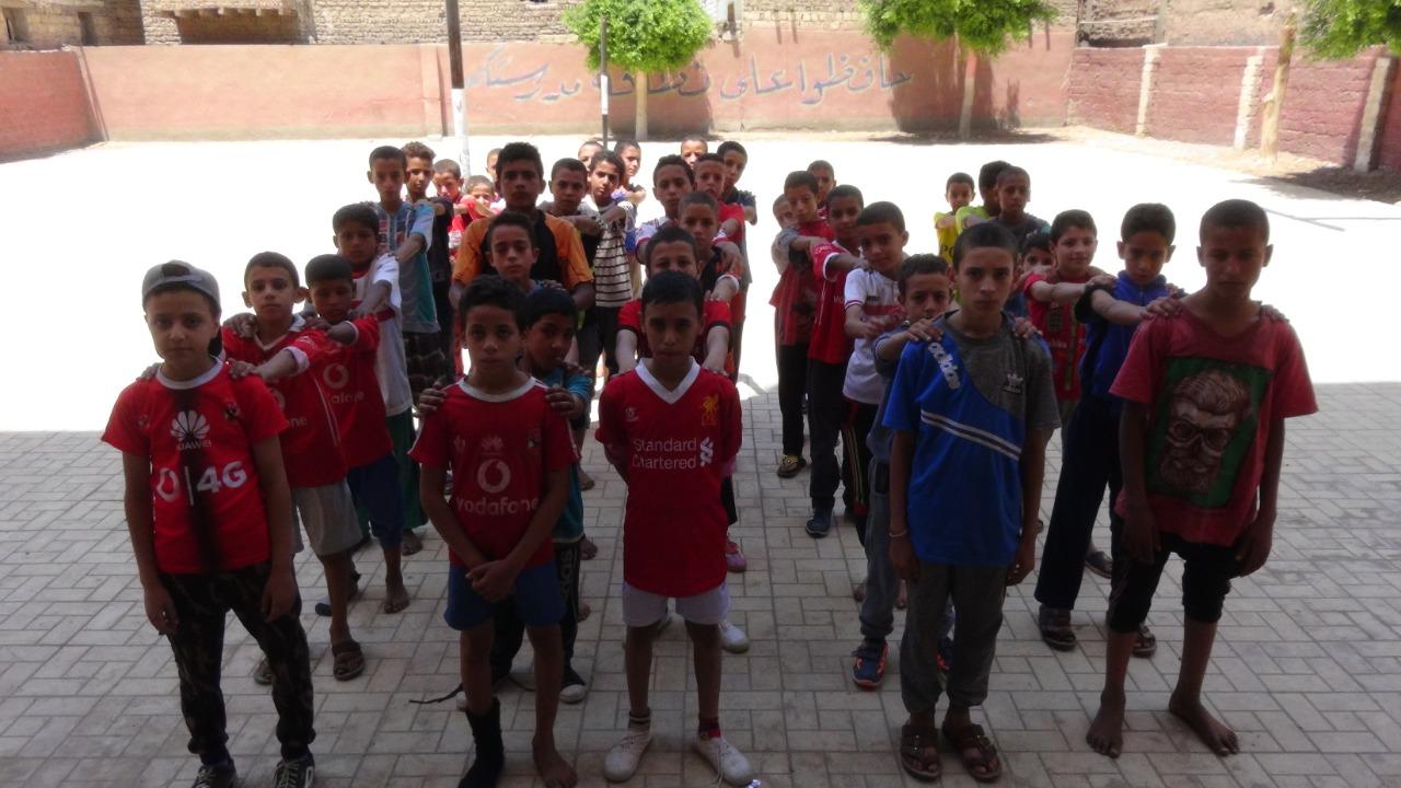قوافل رياضية بجامعة المنيا (8)