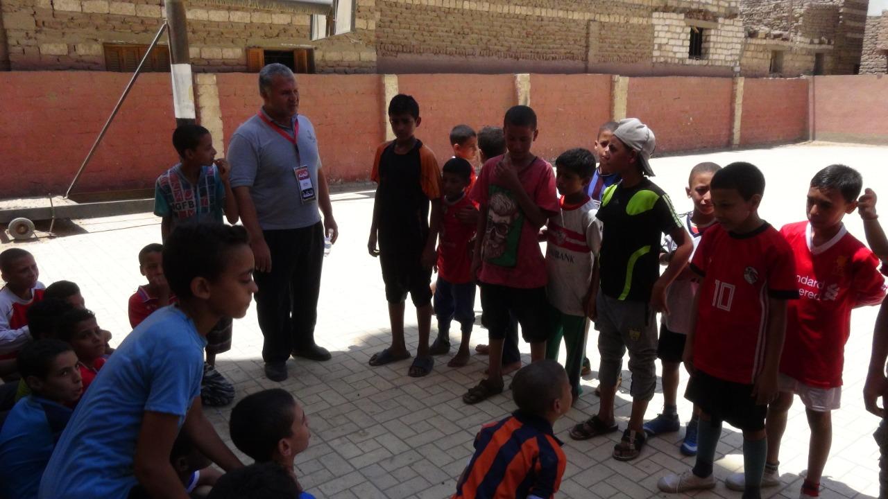 قوافل رياضية بجامعة المنيا (11)