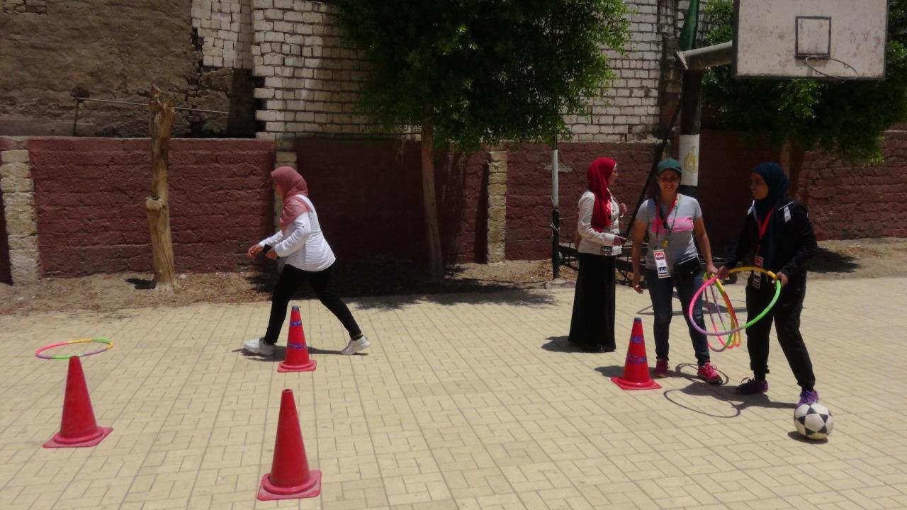 قوافل رياضية بجامعة المنيا (5)