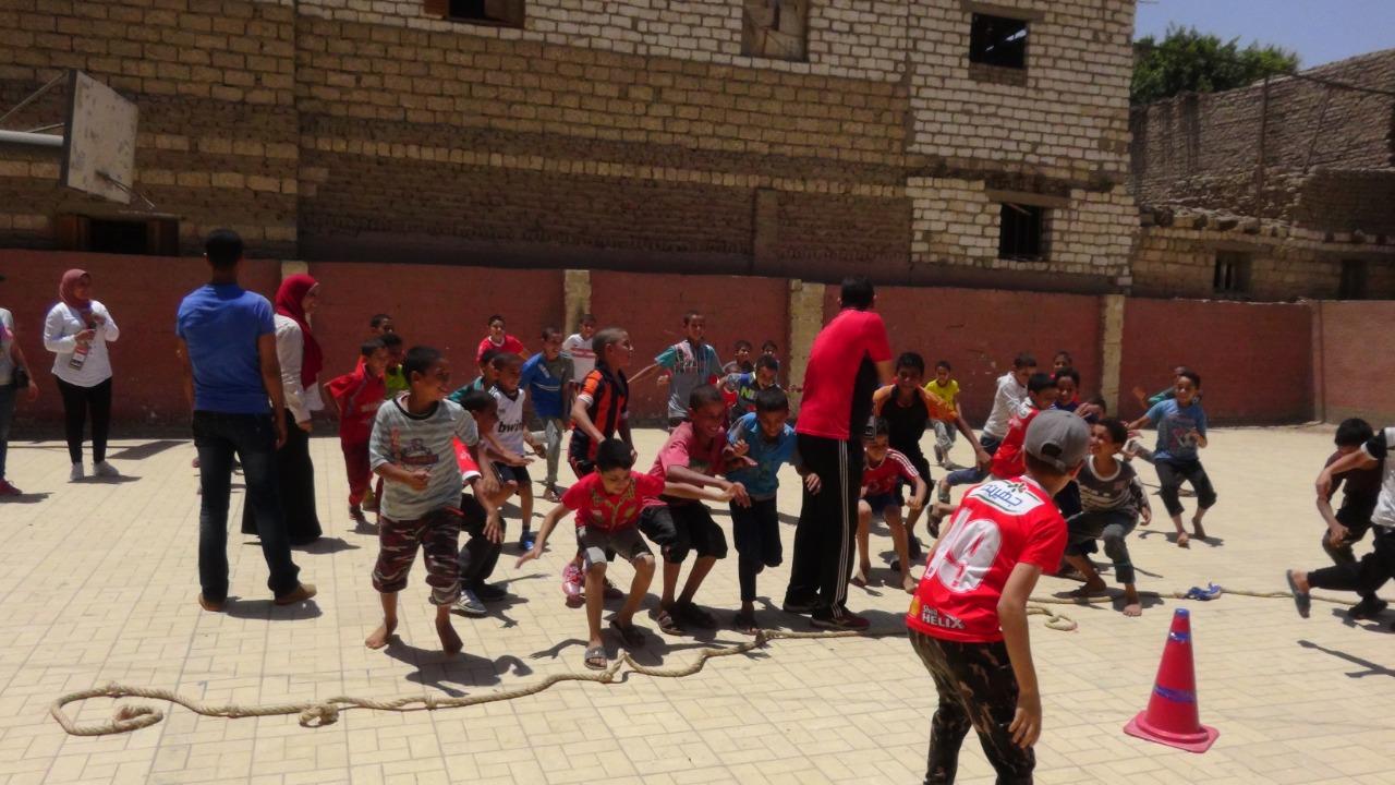 قوافل رياضية بجامعة المنيا (13)