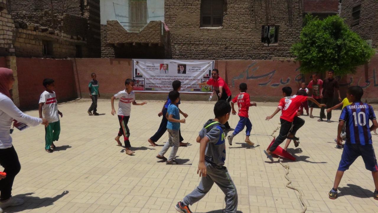 قوافل رياضية بجامعة المنيا (12)