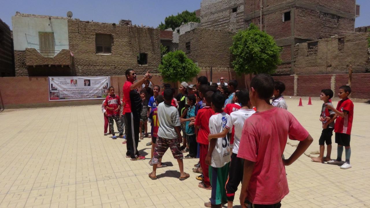 قوافل رياضية بجامعة المنيا (14)