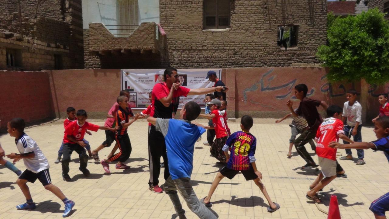 قوافل رياضية بجامعة المنيا (6)
