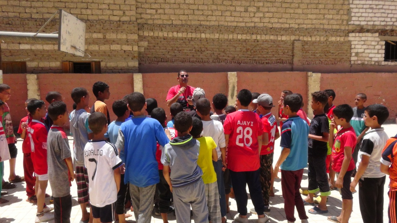 قوافل رياضية بجامعة المنيا (15)