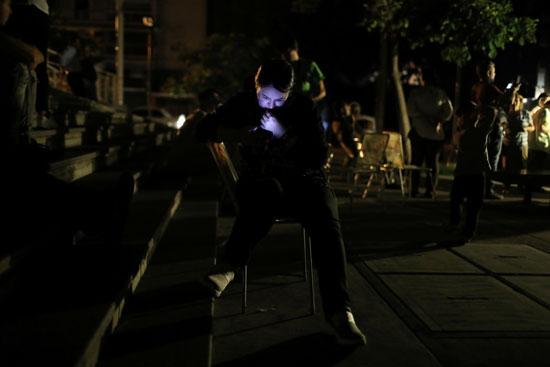الظلام-يسيطر-على-فنزويلا