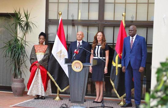السفارة المصرية فى أنجولا (3)