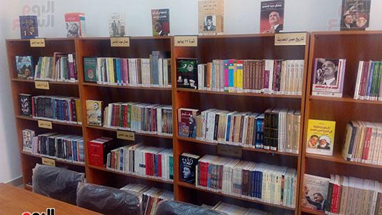 مكتبة جمال عبد الناصر  (1)