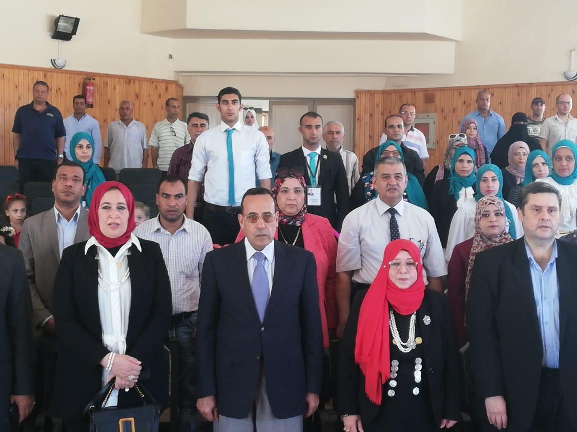 محافظ شمال سيناء يفتتح فرع لأكاديمية المعلمين (3)