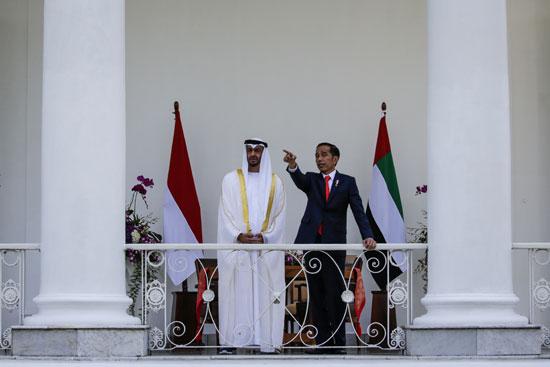 استقبال حافل لولى عهد أبو ظبى فى إندونيسيا (9)