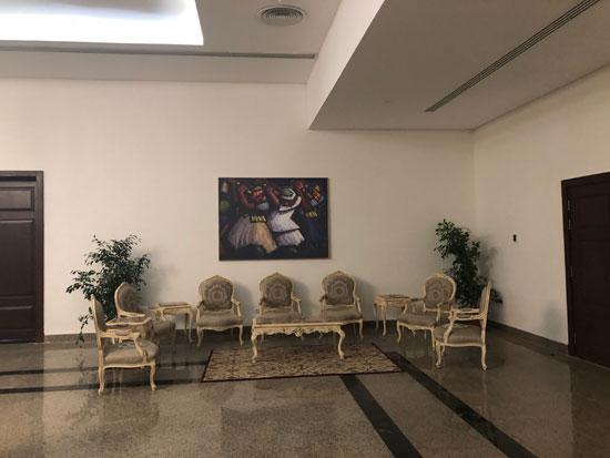 قاعة اجتماعات الحكومة الجديدة بالعلمين (3)