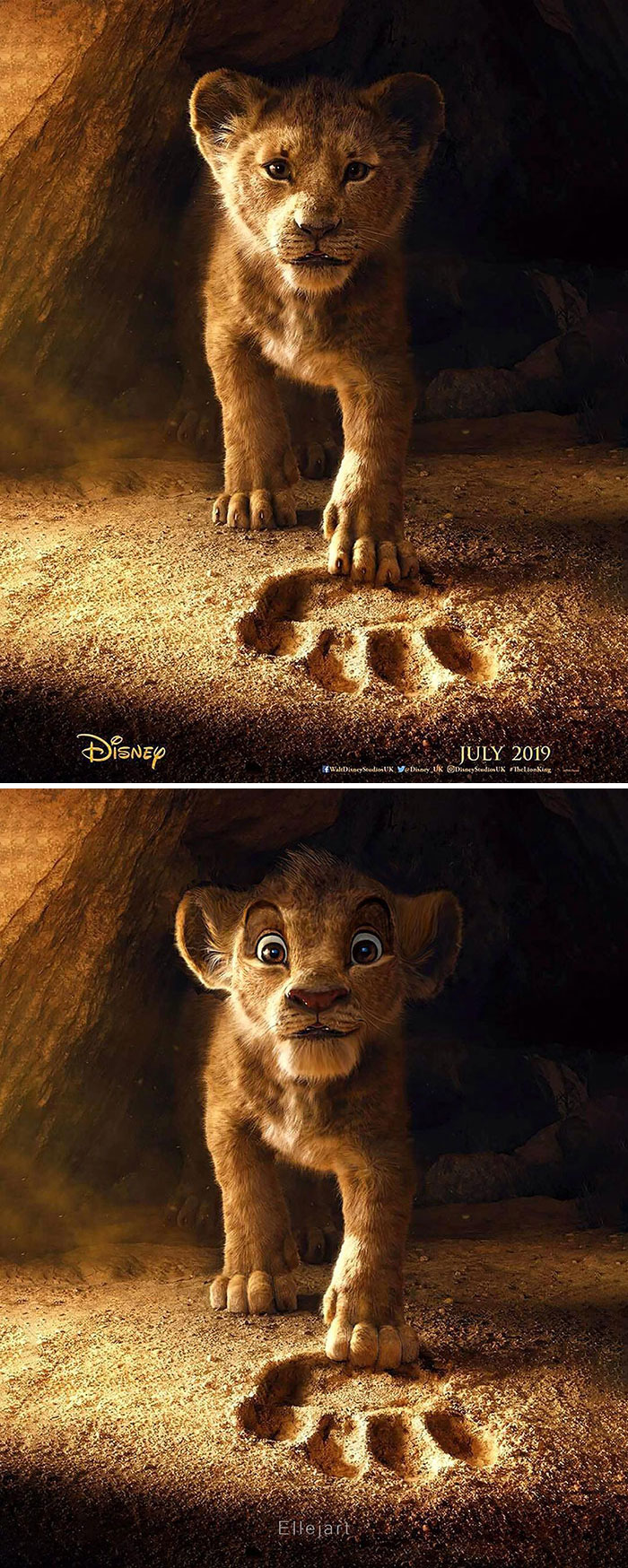 Lion King Promo Poster 1