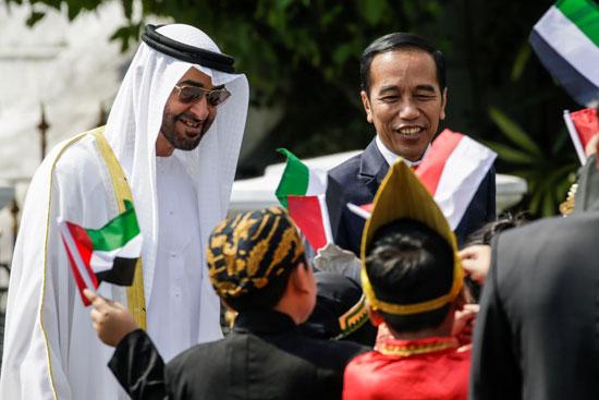 استقبال حافل لولى عهد أبو ظبى فى إندونيسيا (8)