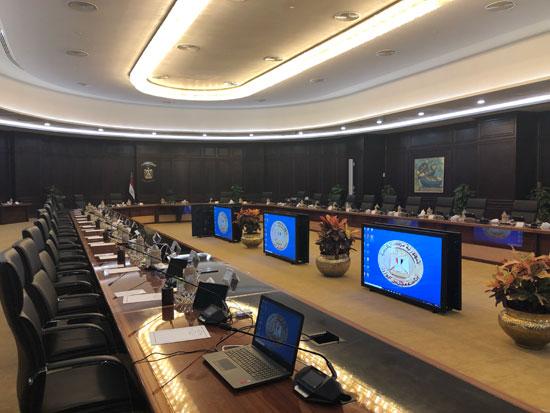 قاعة اجتماعات الحكومة الجديدة بالعلمين (2)