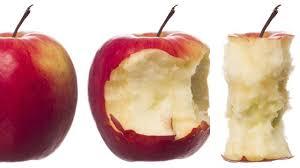 فوائد قلب التفاح
